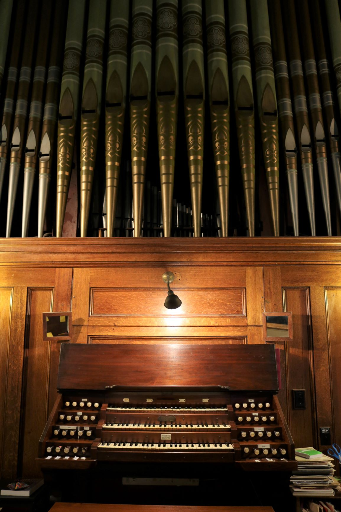 Holy Trinity Pipe Organ